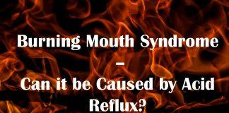 acid reflux burning tongue