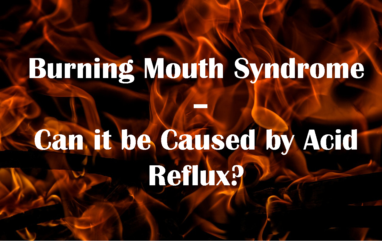 acid reflux burning tongue