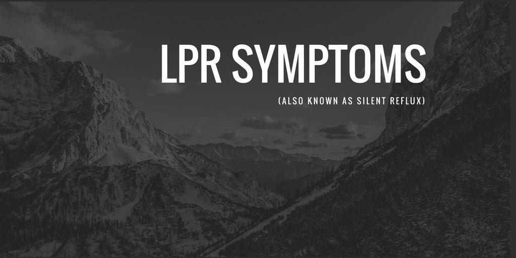 lpr symptoms
