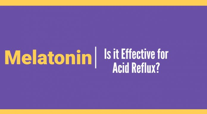 melatonin for acid reflux
