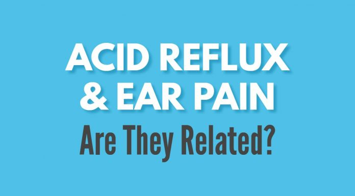 acid reflux ear pain